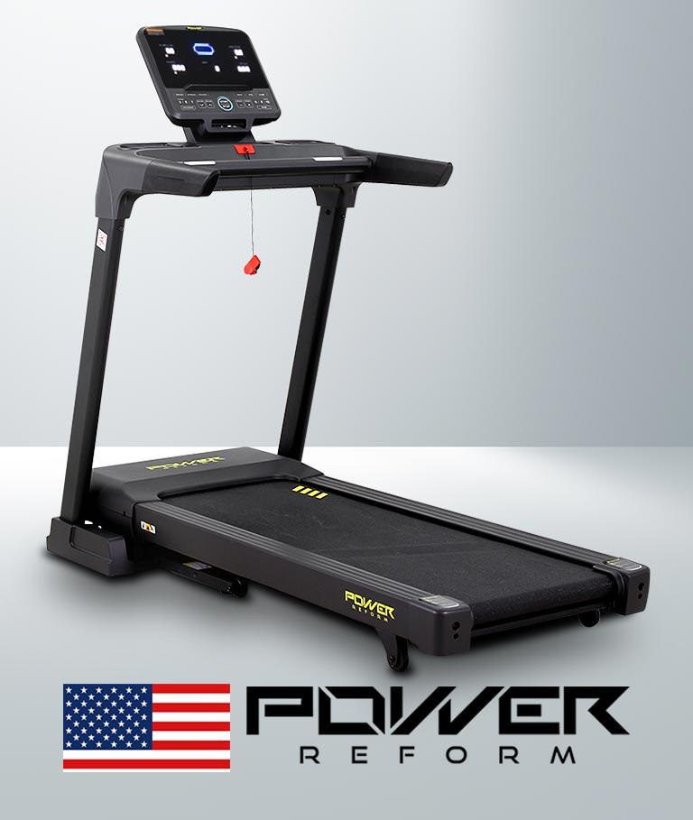 ลู่วิ่งไฟฟ้า PANZER จาก POWER REFORM